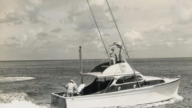 Rybovich Hull 1 - Miss Chevy II - running shot