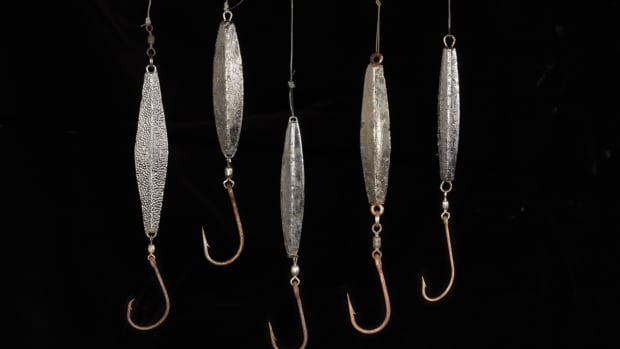 Diamond jigs are simple and effective.