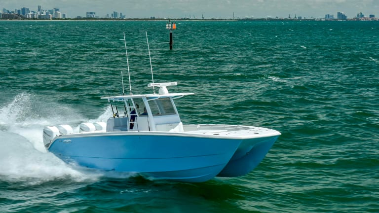 New Boat Report: Invincible 37 Catamaran