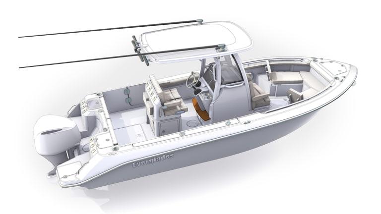 New Boat Report: Everglades 235cc