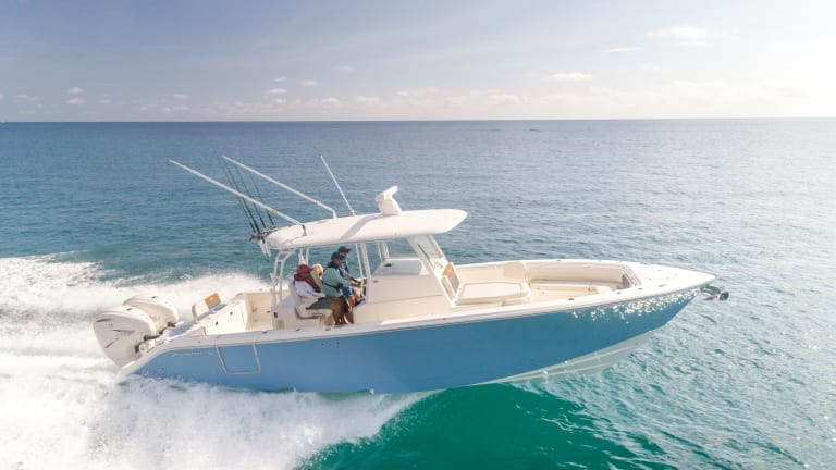 New Boat Report: Cobia 350 CC