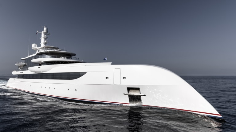 262-foot / 80-meter Excellence built by Abeking & Rasmussen
