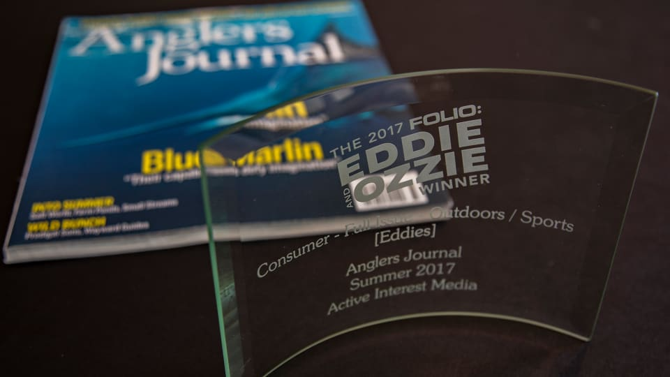 Anglers Journal Wins National Award