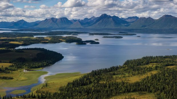 Plenty of elbow room in expansive Wood-Tikchik State Park in the Bristol Bay region of Alaska.