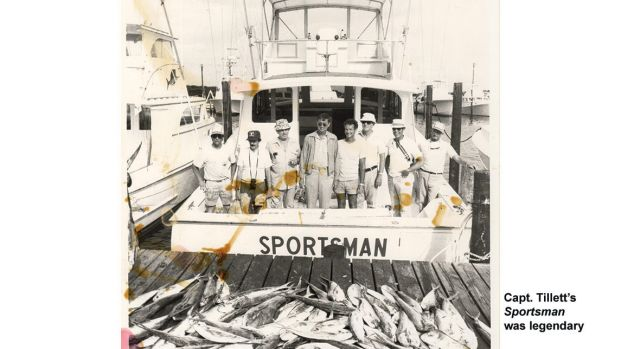 Capt. Tillett's Sportsman was legendary