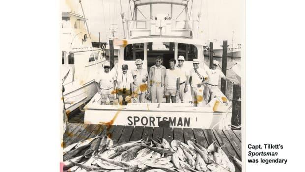 Capt. Tillett's Sportsman was legendary
