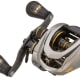 "The Team Lew's Custom Pro Speed Spool is built on the company's new proprietary SLP ""super low-profile"" platform and has a small diameter 32-mm spool, which makes the reel's compact design possible. The reel is 10 percent smaller overall than the traditional Speed Spools. The 11-bearing reel has an aluminum frame and custom Winn Dri-Tac knobs on the handle. $260. lews.com"