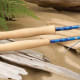 "Sole fly rods are based on a one-ferrule concept with the location 28"" from the tip. This design provides one-piece performance while removing much of the difficulty transporting a 9', one-piece rod. St. Croix has re-engineered the ferrule making tip section replacements easy. $340-$360. stcroixrods.com"