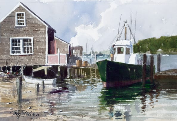Fishing Boats-Menemsha-LARGE