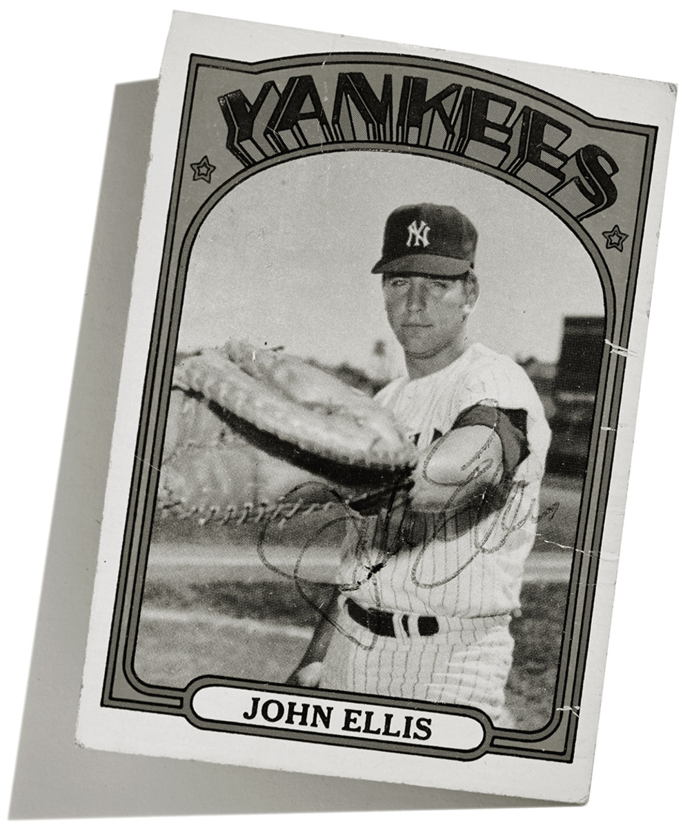 John Ellis-baseball card