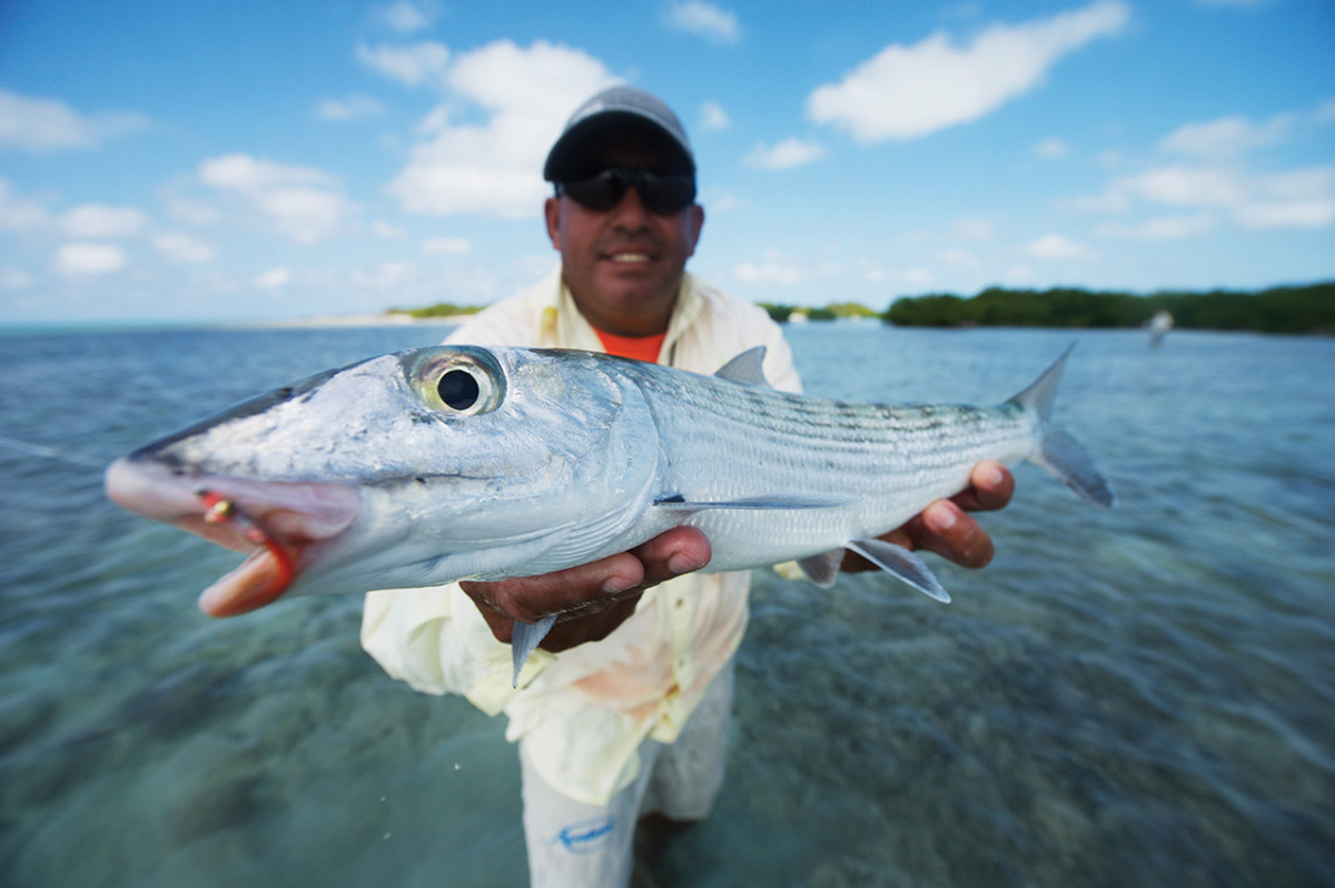 The author found an abundance of fishing options on his first trip to Cuba, last winter. The bonefishing was very good, and he had plenty of shots at permit and baby tarpon.
