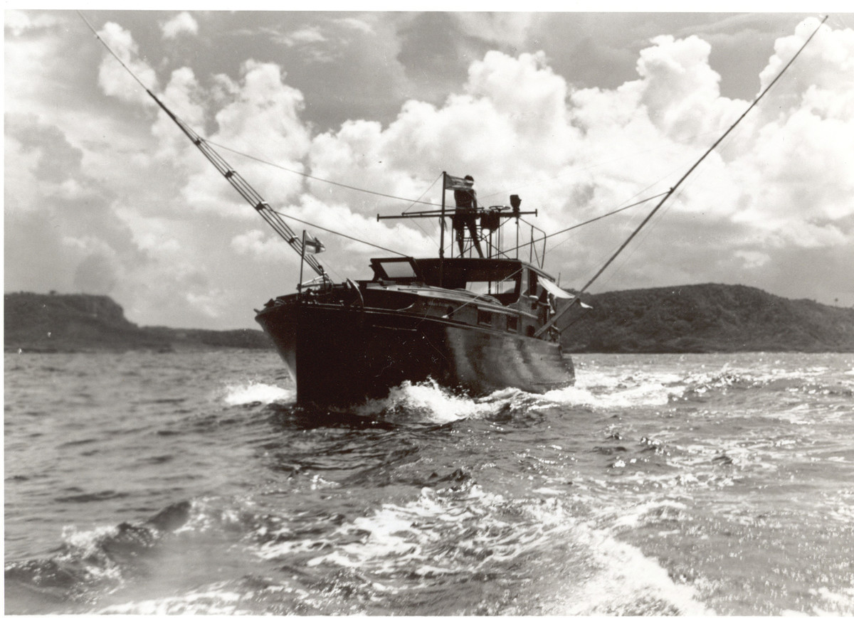 Ernest Hemingway's Pilar, a 38-foot Wheeler built in 1934, was a showcase of the proven gear of her era