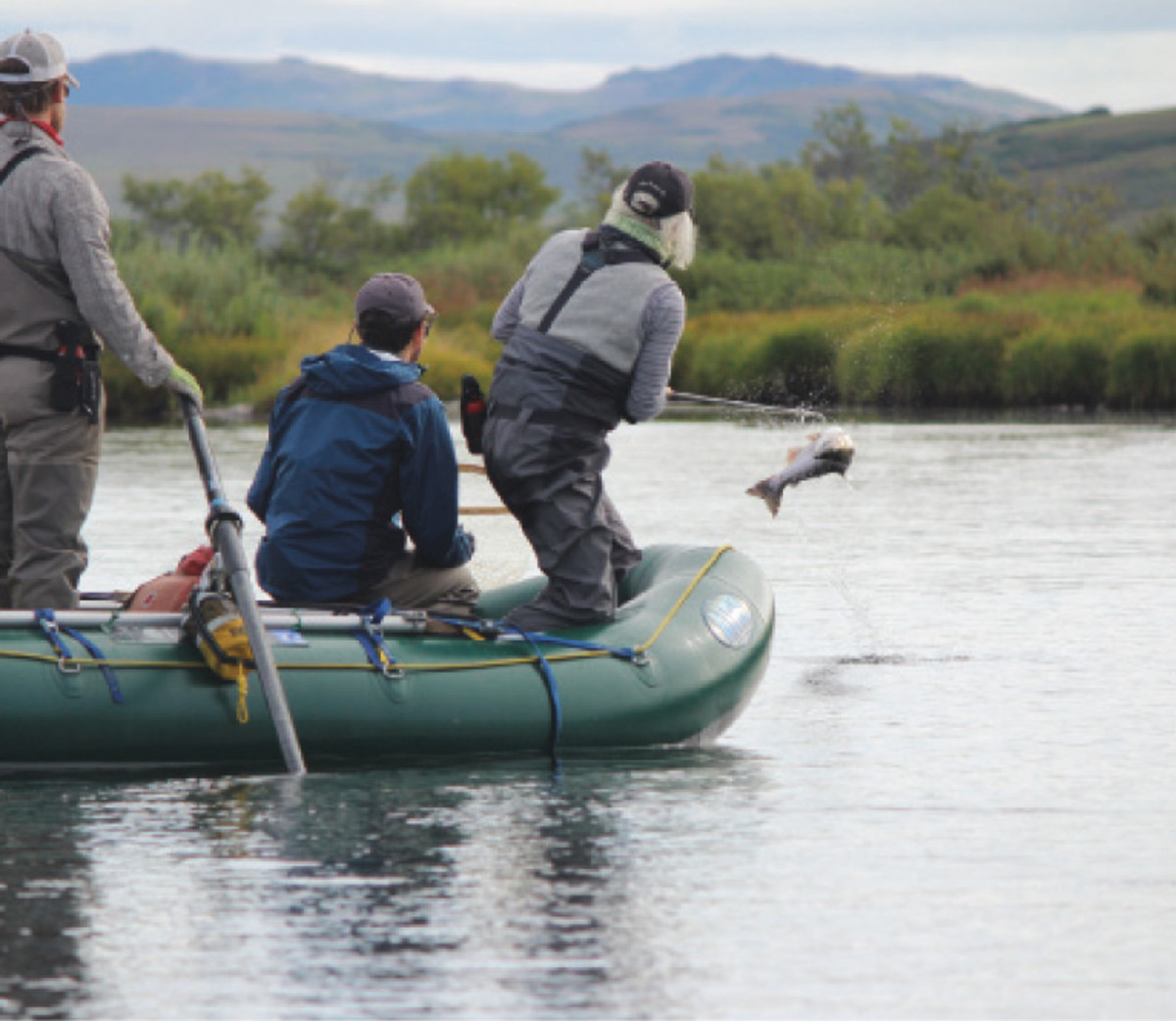 Young guide finds a home on the rivers of Alaska.