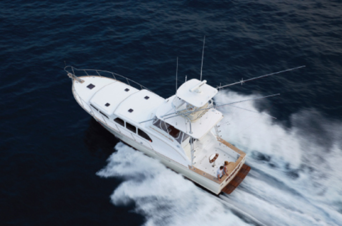 45-foot Huckins Sportfisherman