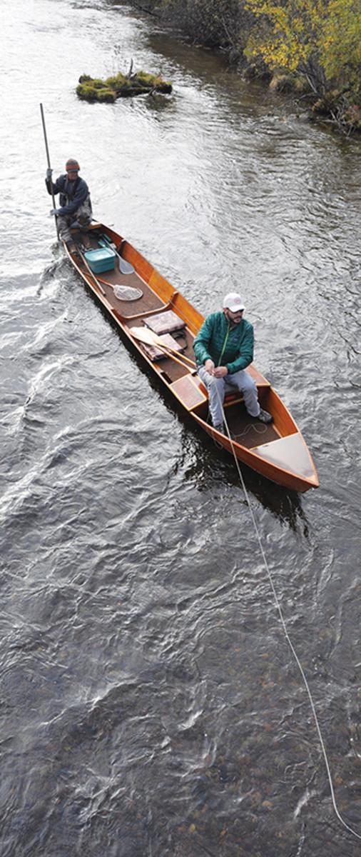 Au Sable guide boat