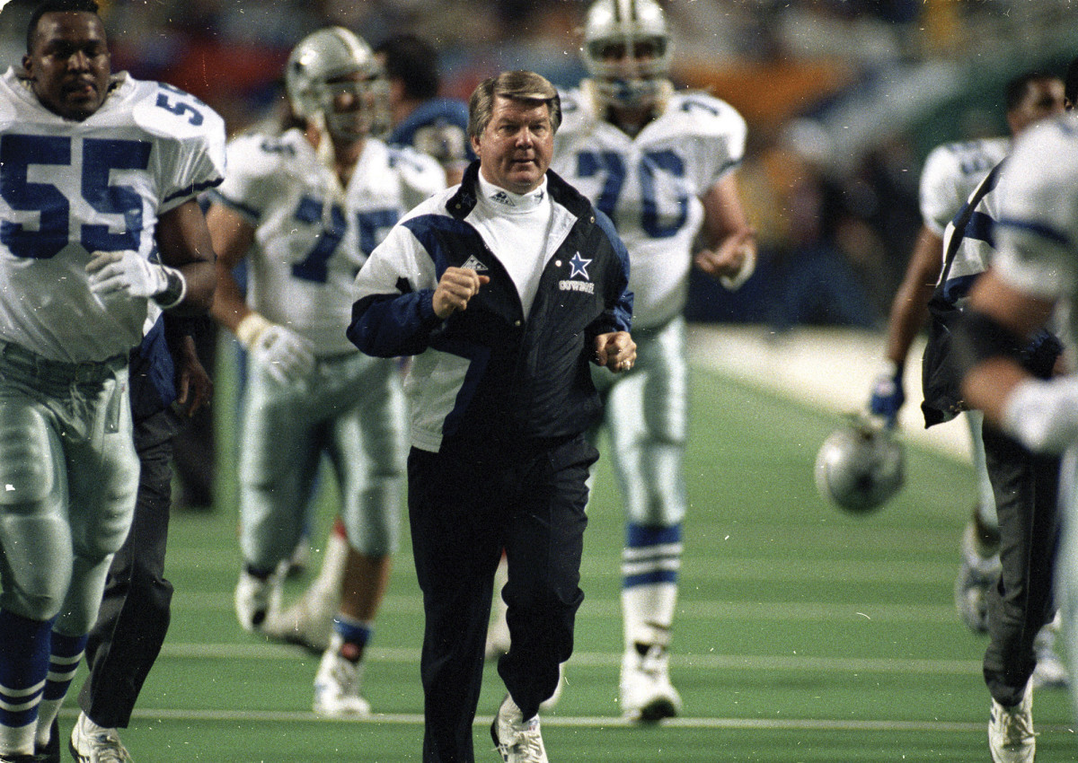 Johnson won two Super Bowl rings with the Dallas Cowboys. Looking back, did he retire too soon? The coach dismisses the notion and says living in the Keys had a lot to do with his decision.