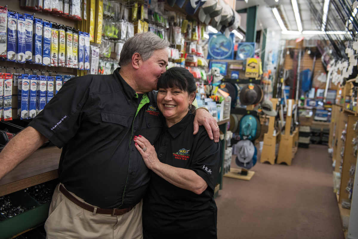 Tony and Dee Tochterman haven't taken a vacation in years. They work seven days a week and say they love every minute of it.