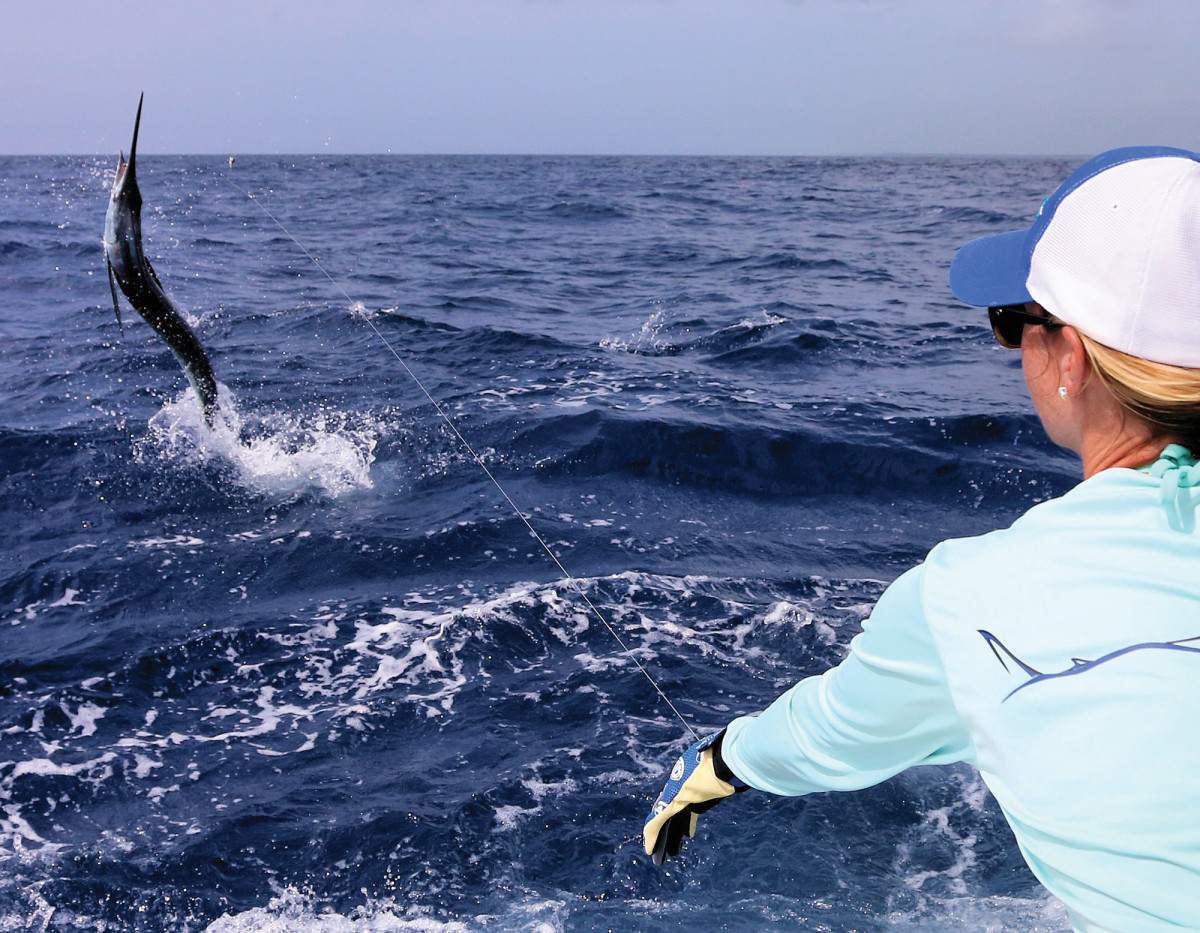 Some of the best anglers in the world become hooked on the thrill and challenge of chasing white marlin.