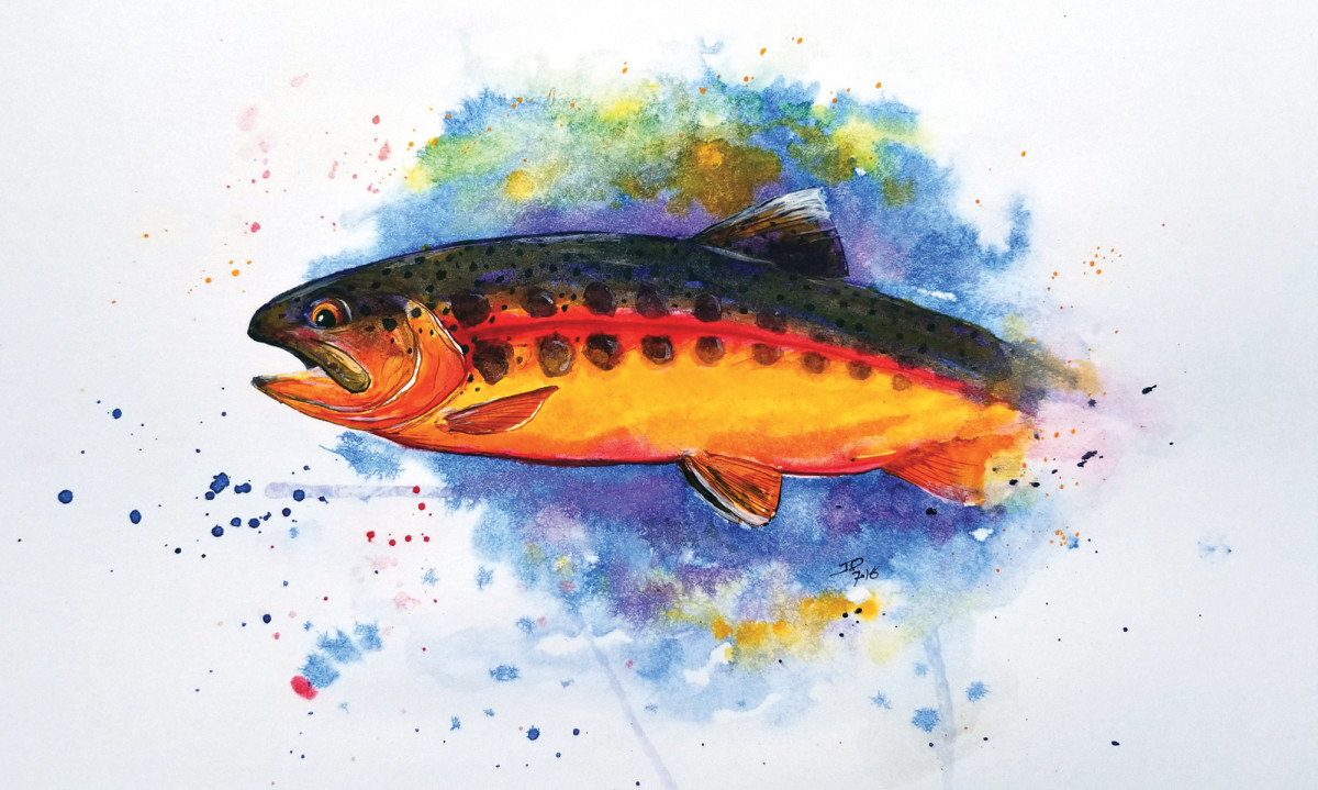 A long-ago hike for golden trout remains fresh in Ray's memory.