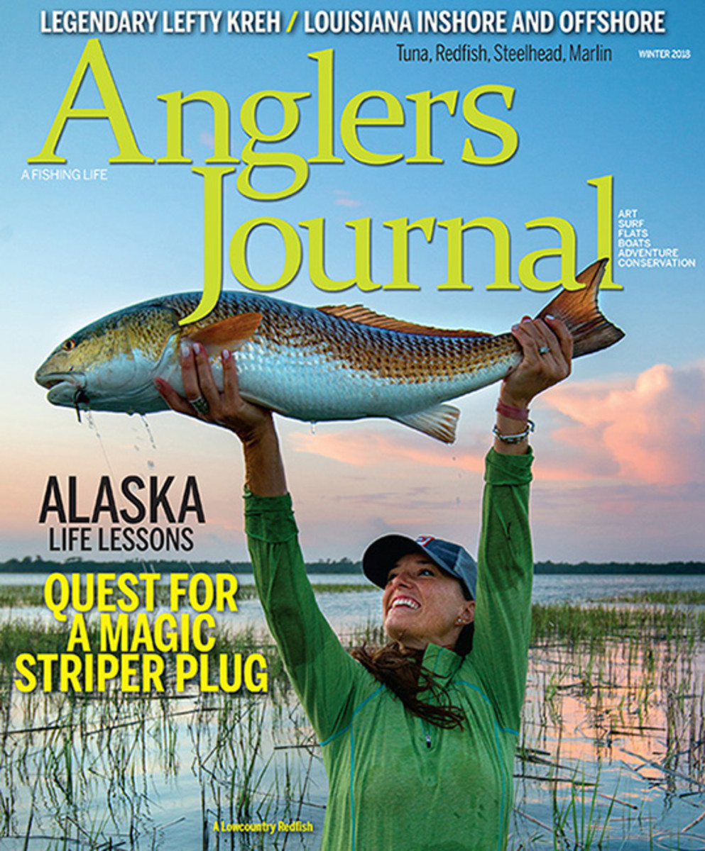 Anglers Journal Winter 2018 cover