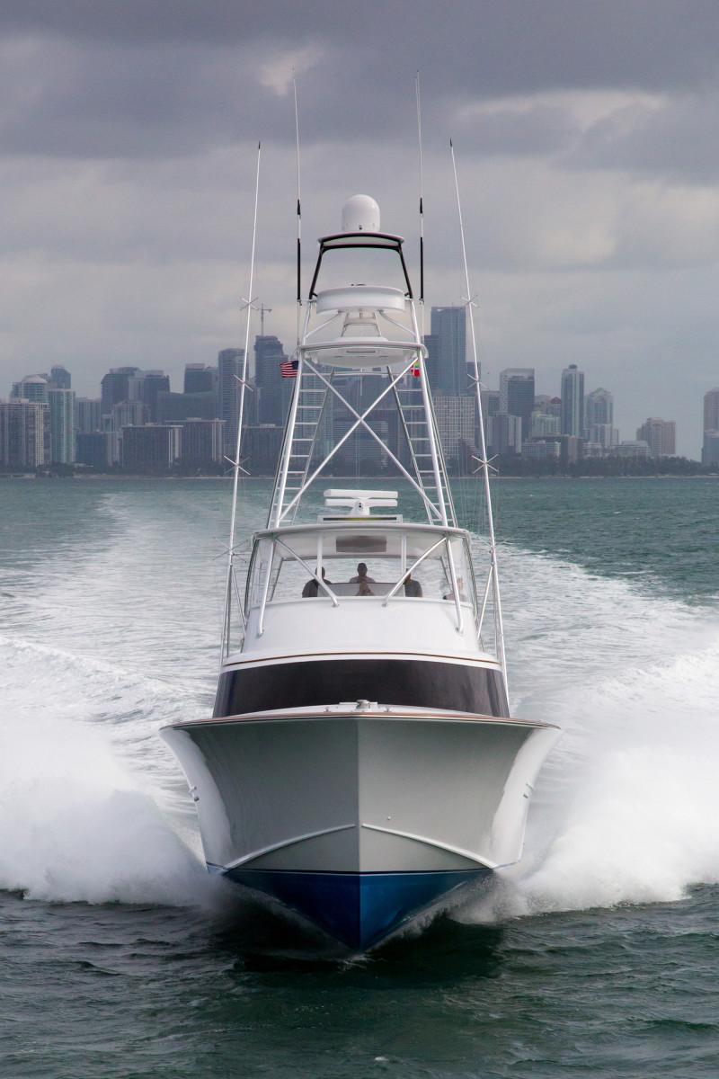 Paul Mann Custom Boats 77
