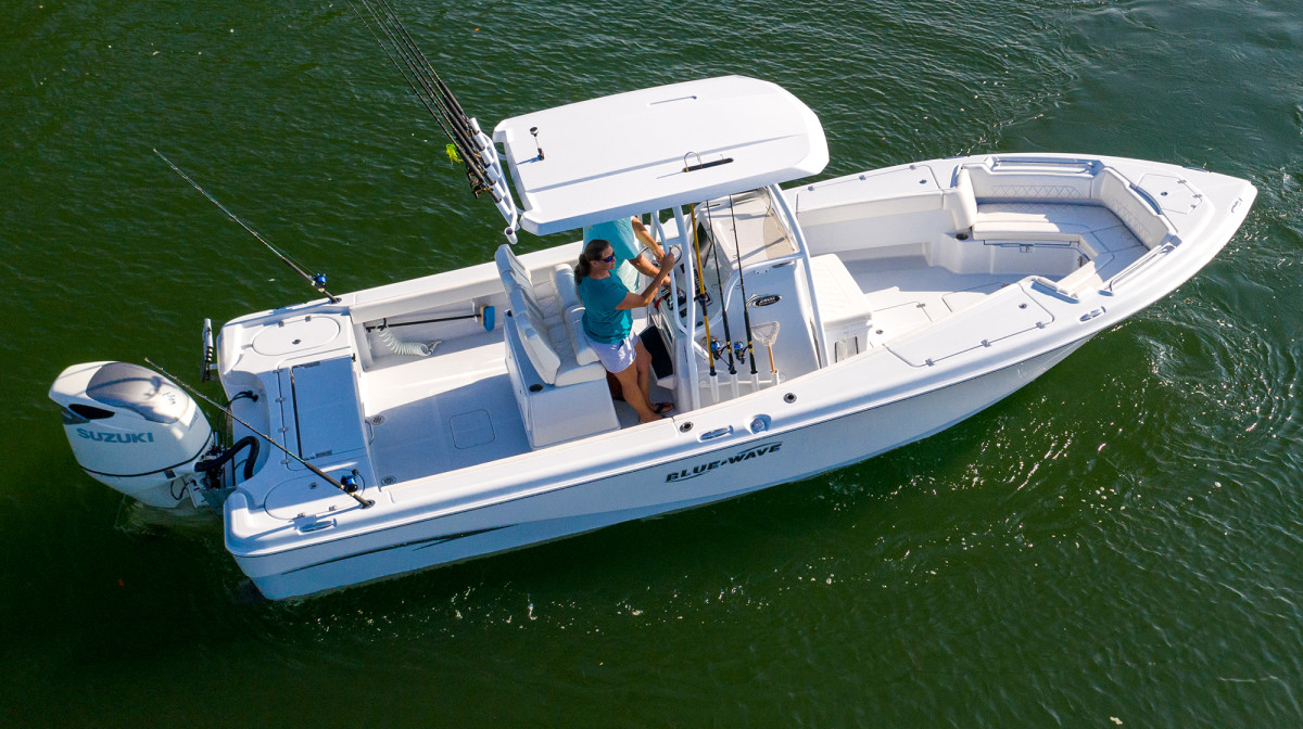 New Boat Report Blue Wave Makaira Anglers Journal A Fishing Life
