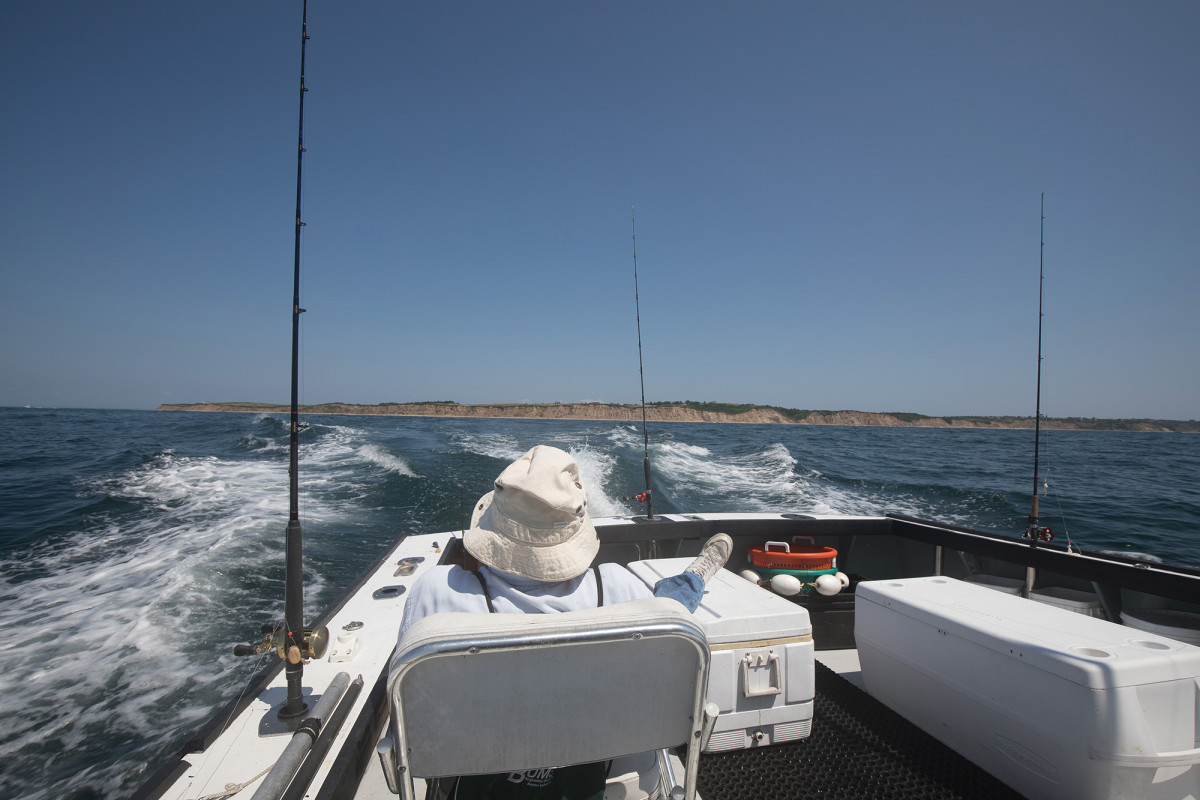 The rocky bottom off Block Island is a perfect sea bass haunt.