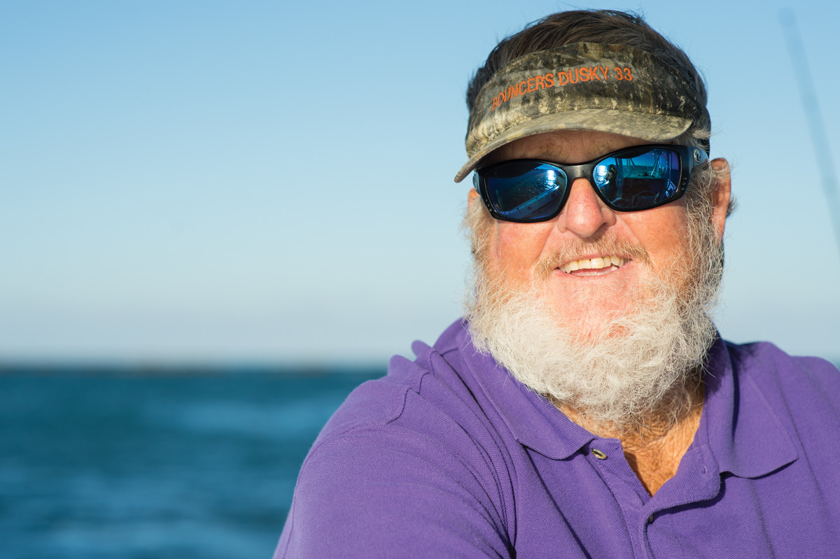 Bouncer has guided anglers to more than 70 world  records.