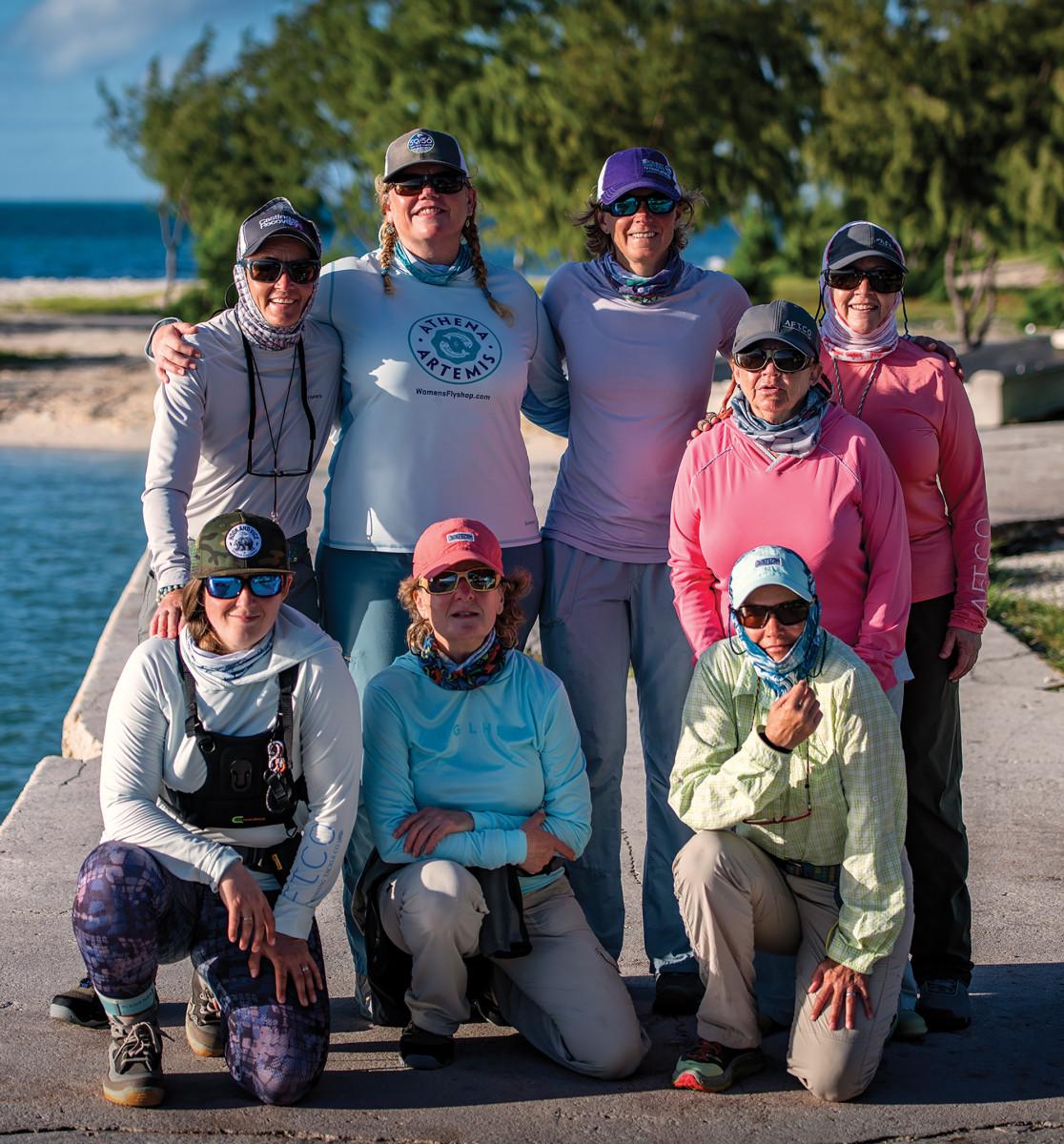 (Clockwise from top left) Jen Lofgren, Geri Meyer, Jenny West, Lynne Boomgaarden, Donna Wichers, Kay DuShane, Peg Miskin, Jessica Haydahl-Richardson.
