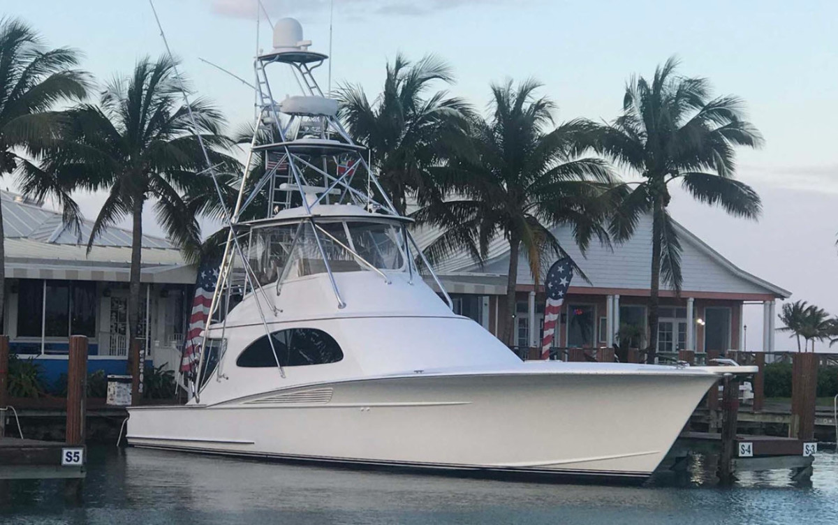 Spencer 57 Custom boat