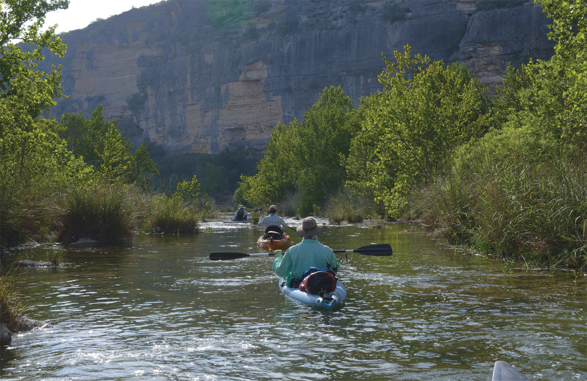 The Devils is defined by seclusion, scenery and good largemouth and smallie fishing.