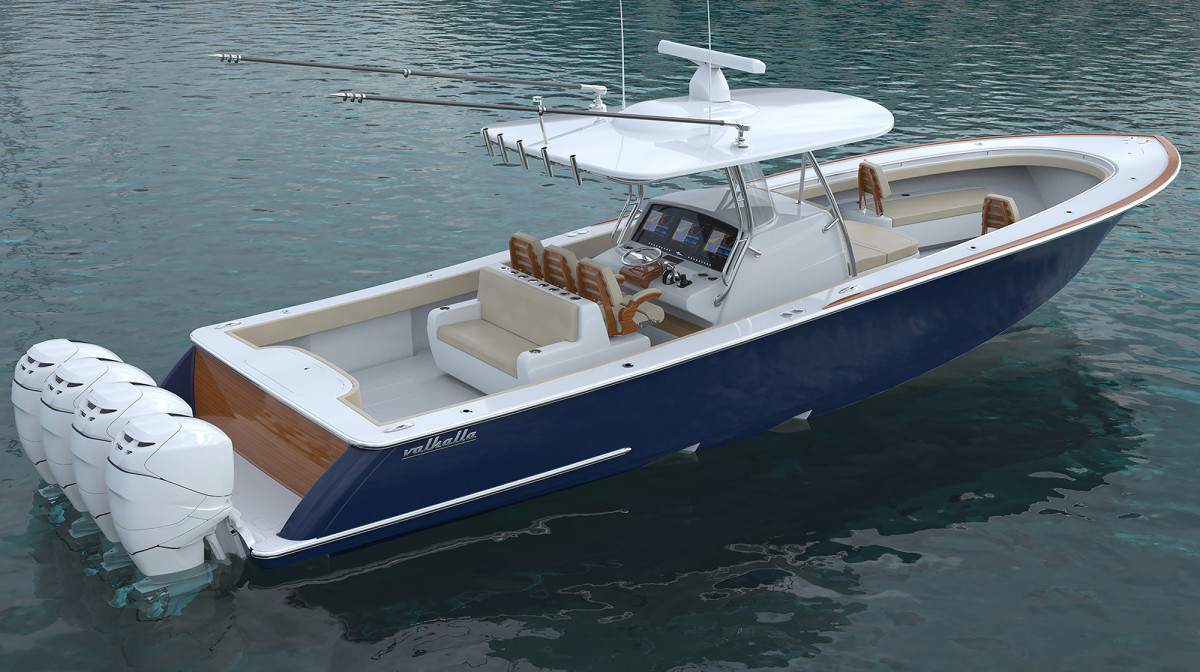 Viking Yachts Unveils New Center Consoles Anglers
