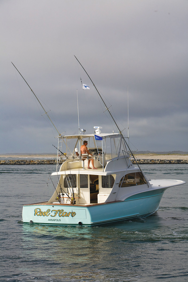 Reel Flare, Bandy's Jarrett Bay Boatworks Hull No. 6