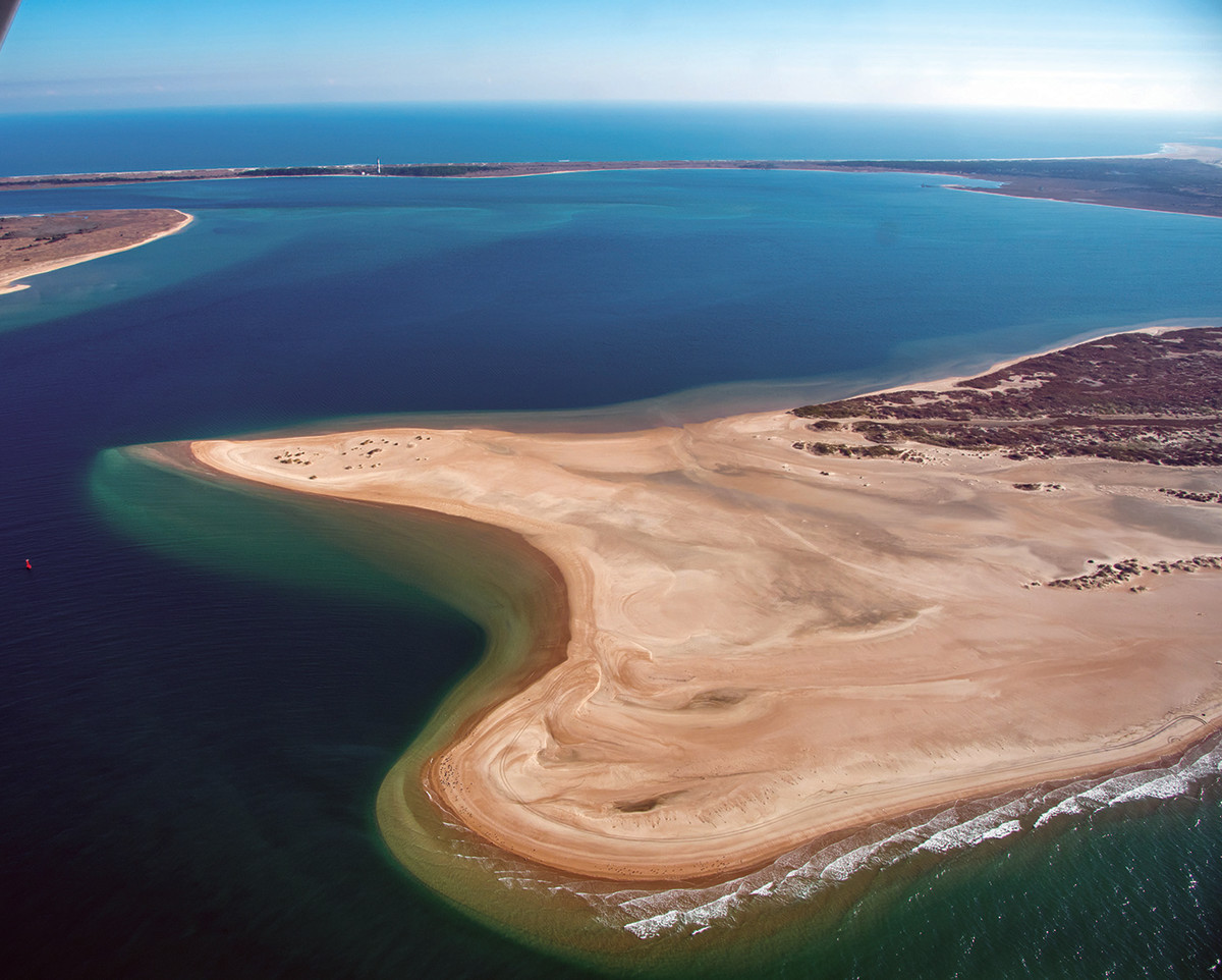 Home waters: Barden Inlet and The Hook.