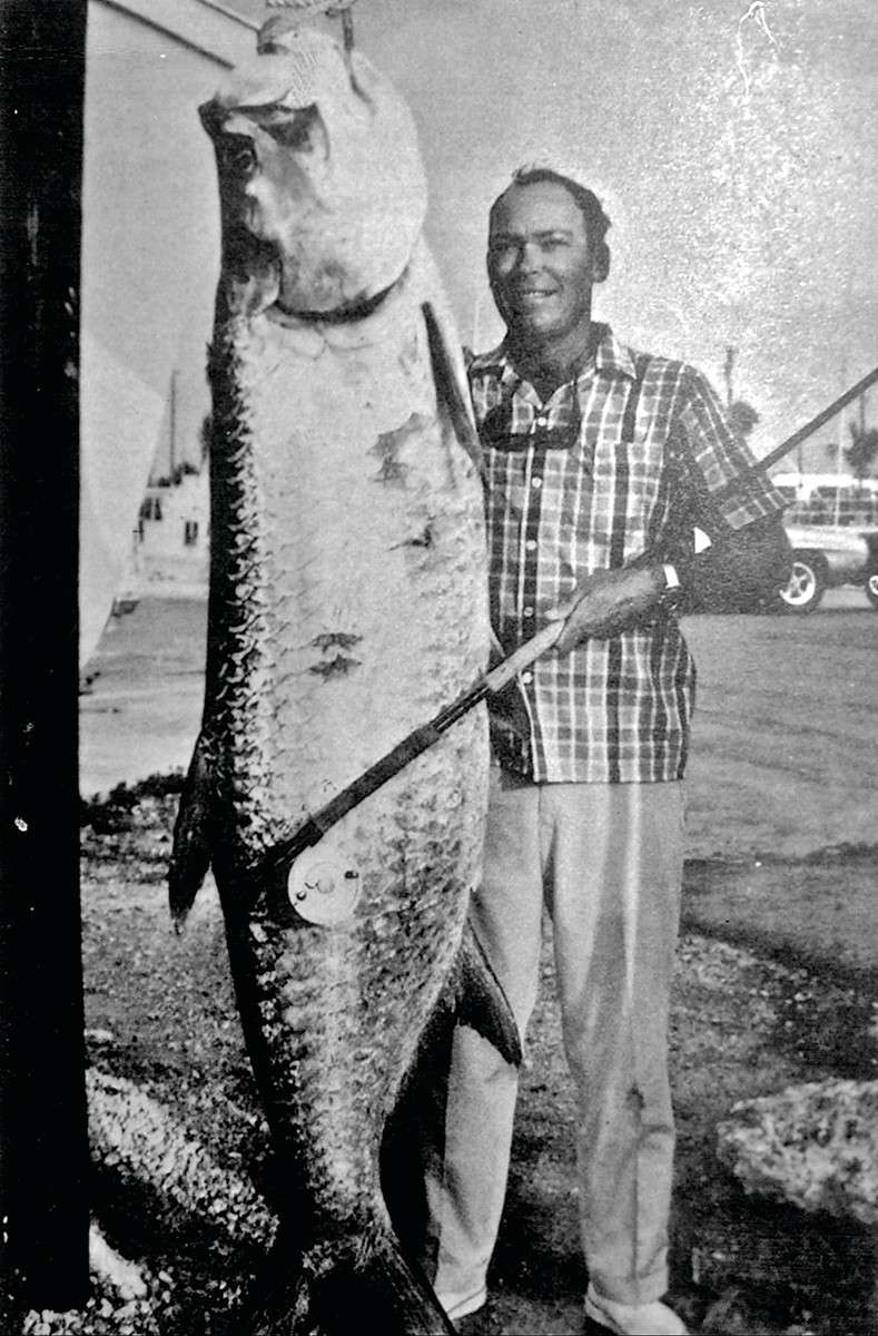 Apte several times held the record for tarpon on fly.