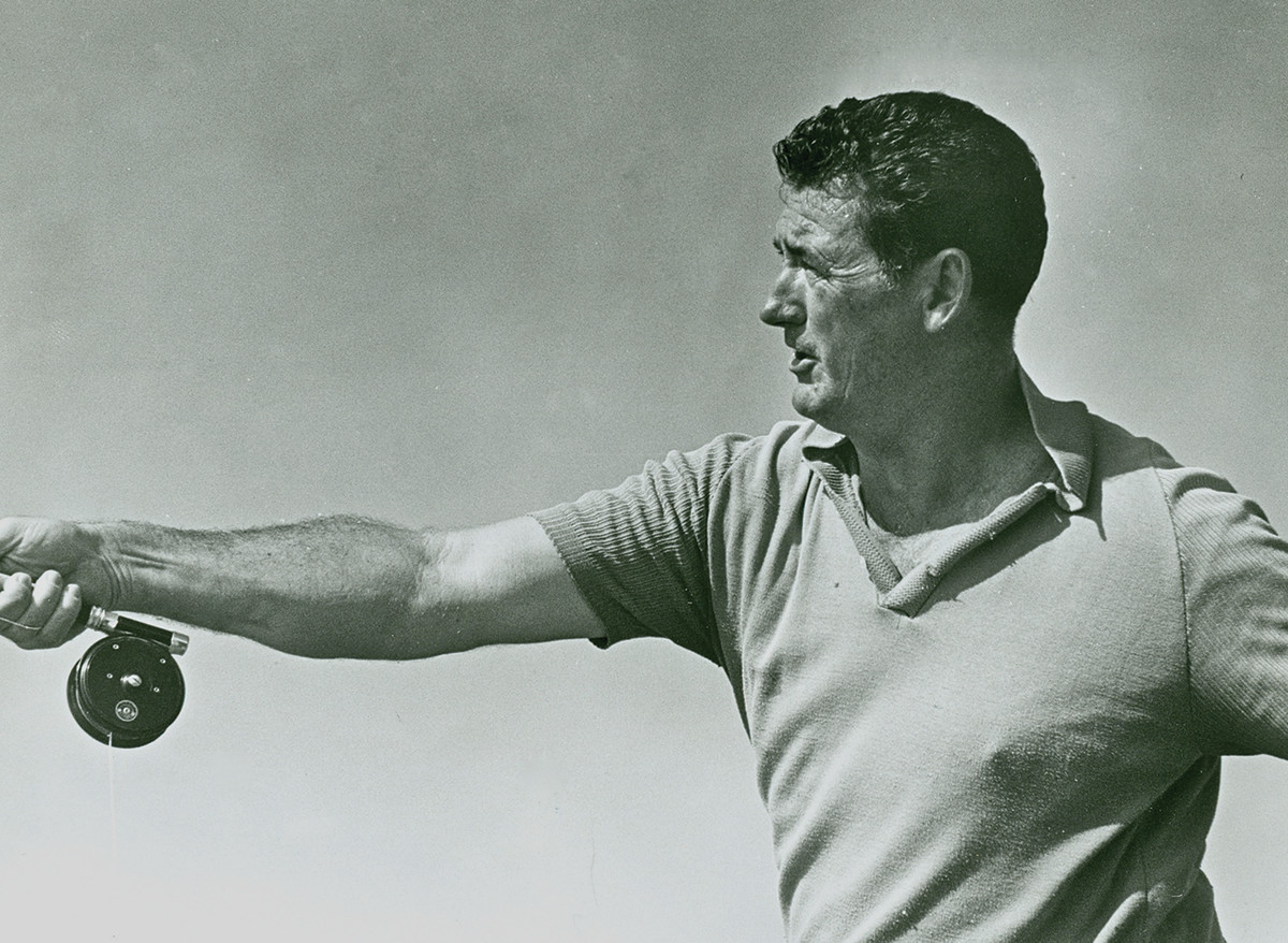A chance encounter brought together Apte and baseball legend Ted Williams, who also was an accomplished fly fisherman.