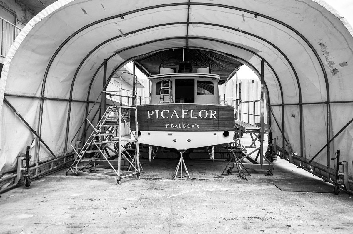 Picaflor's refit included an engine transplant.