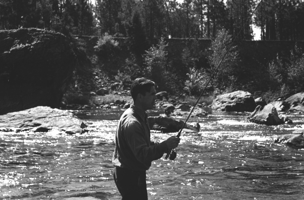 """Norman Maclean's brother, Paul, a gifted angler whose murder reverberates through Norman's exquisite """"dark poem of a book"""" on the Blackfoot."""