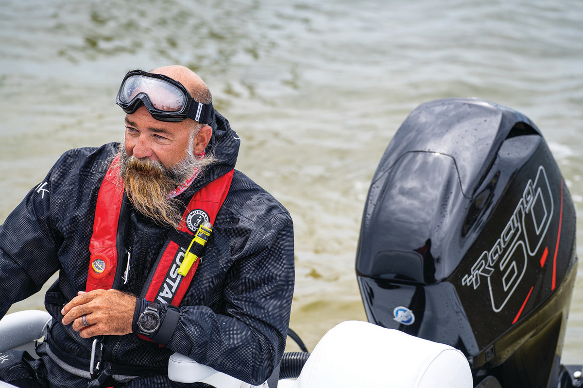 """Yellowfin's Heath Daughtry, a two-time Challenge winner, was the first guy to run a flats boat around Florida """"just to see if we could do it."""""""