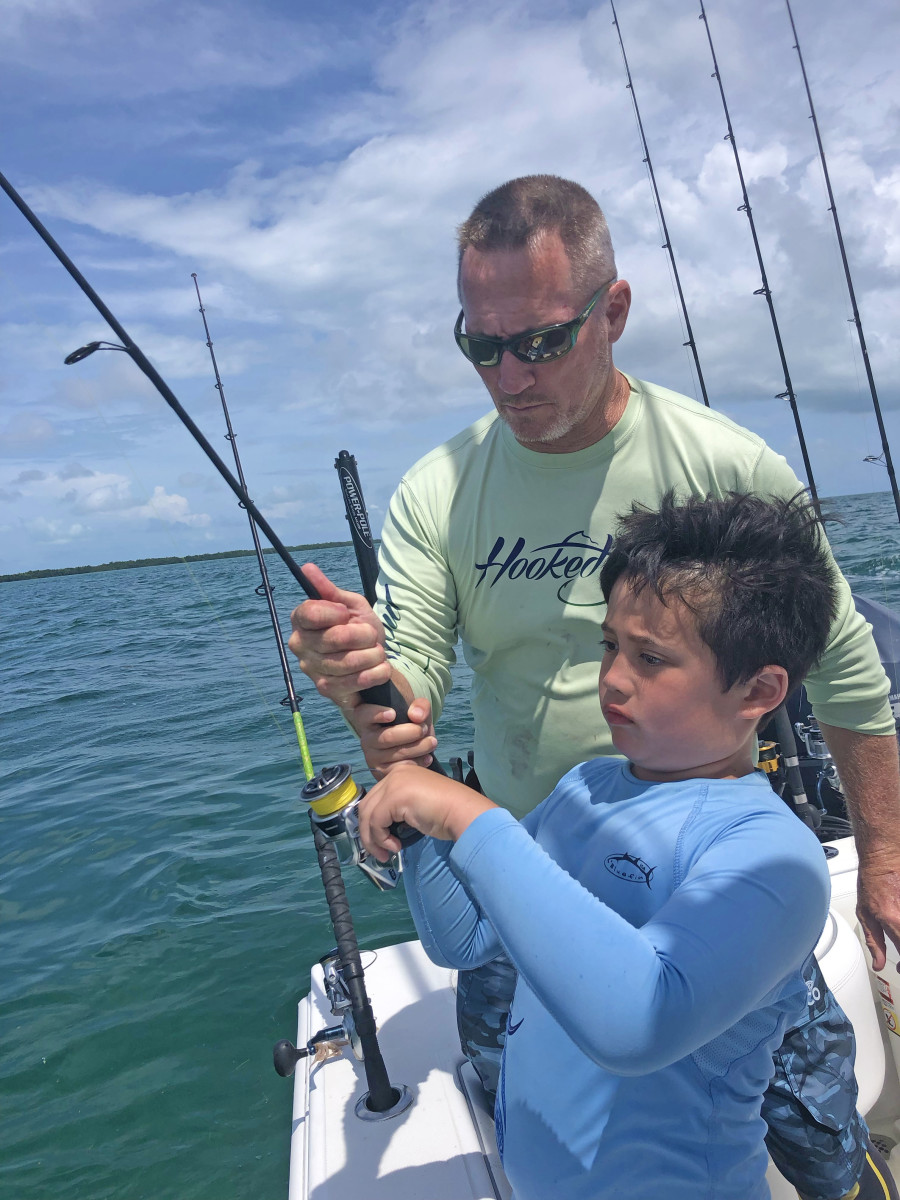 When offshore fishing didn't pan out, bottom fishing in the lee of Key West provided steady action and plenty of life lessons.
