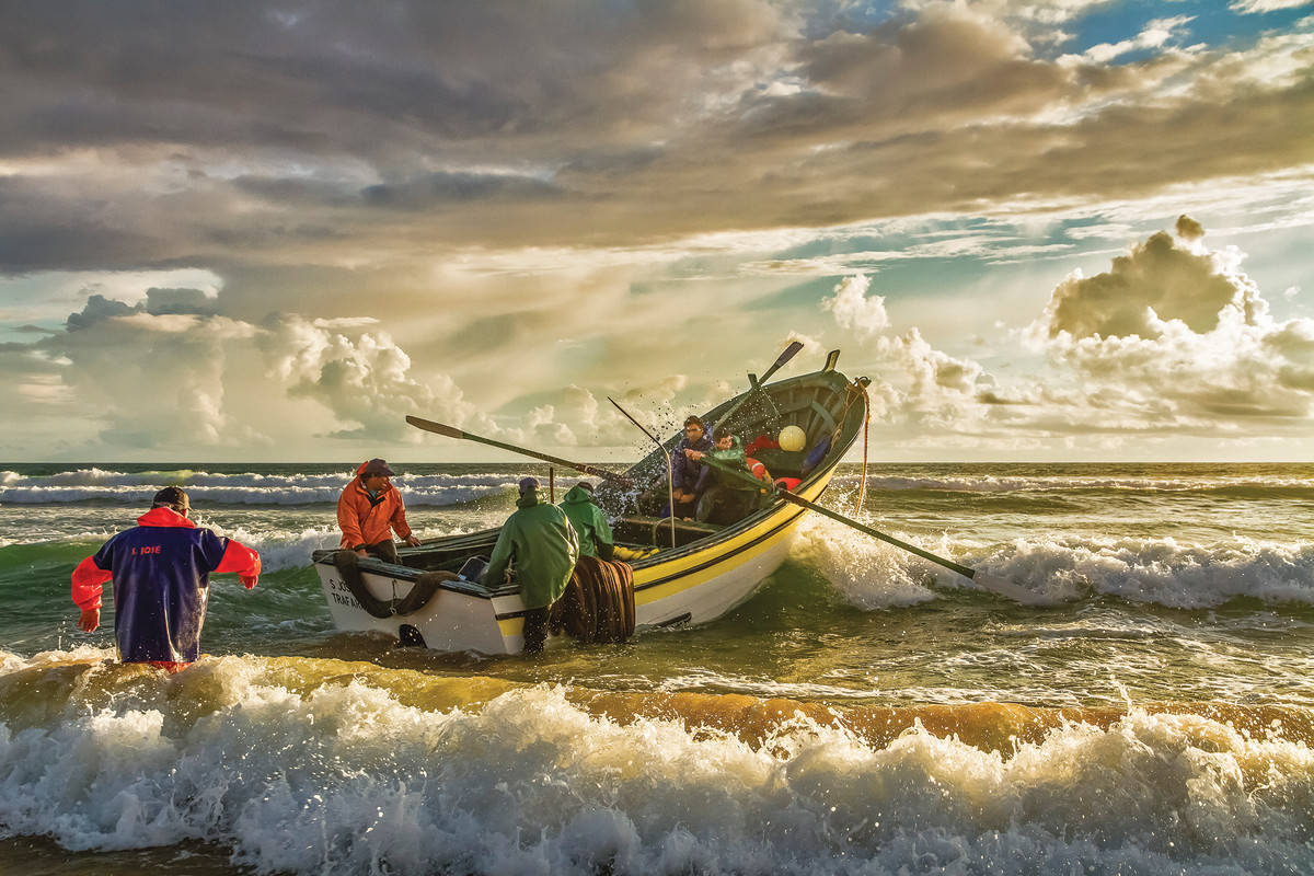 Once you're past a certain age, you pick your battles, timing your toil to take advantage of the roll of the boat, the force of the wind. You work smart.